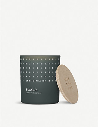 SKANDINAVISK: SKOG scented candle with lid 200g