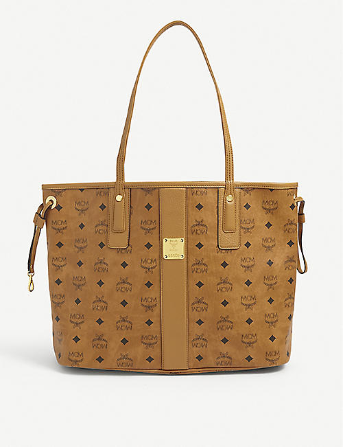 MCM: Essential Visetos leather tote bag