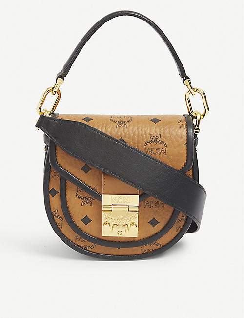 MCM: Patricia leather mini shoulder bag