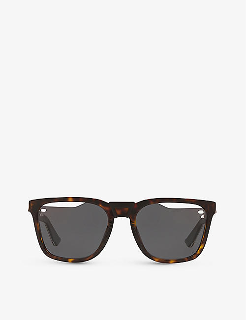 WATERFORD: DiorB24.1 hybrid acetate sunglasses