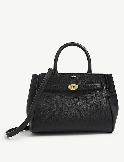 MULBERRY: Bayswater small leather shoulder bag