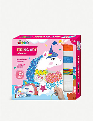 AVENIR: String Art Unicorns activity pack