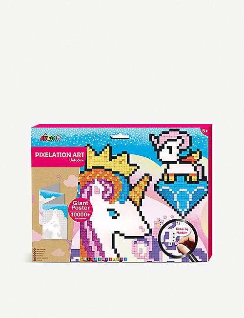 AVENIR: Pixelation Art Unicorn activity pack