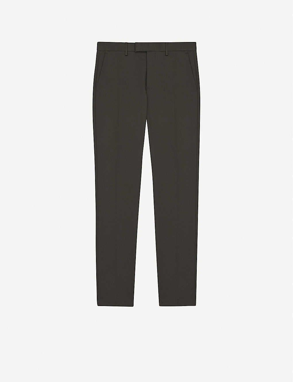 REISS: Eastbury slim-fit straight stretch-cotton trousers