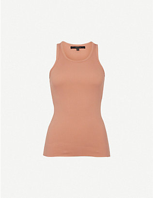 J BRAND: Gabbey ribbed cotton top