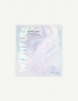 HUDA BEAUTY: WISHFUL Thirst Trap Hydrating Sheet Mask 35g