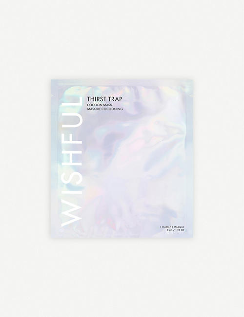 HUDA BEAUTY WISHFUL Thirst Trap Hydrating Sheet Mask 35g