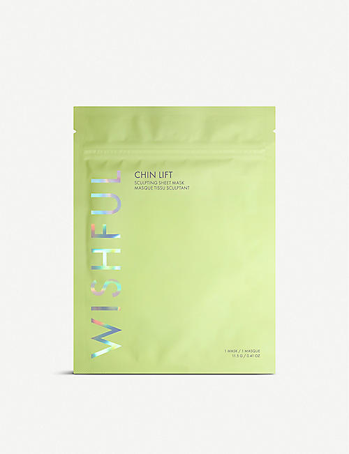 HUDA BEAUTY: WISHFUL Chin Lift Sculpting sheet mask 11.5g