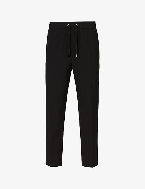 ALLSAINTS: Alcor stretch-jersey cropped trousers