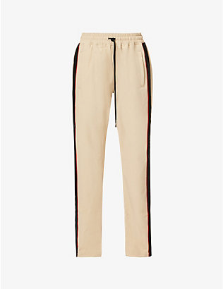 JUST DON: Track Team crepe trousers