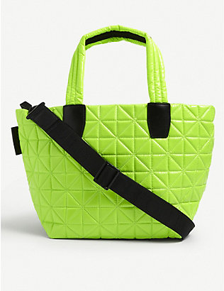 VEE COLLECTIVE: Vee small recycled-nylon tote bag