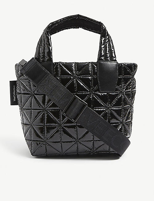 VEE COLLECTIVE: Vee mini recycled-nylon tote bag