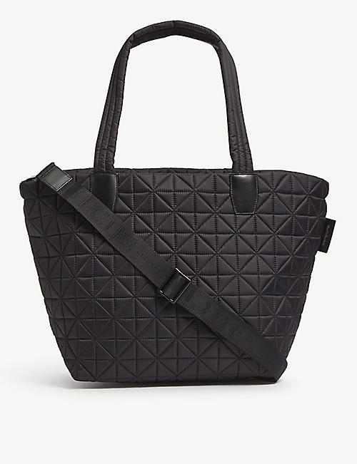 VEE COLLECTIVE: Vee medium recycled-nylon tote bag