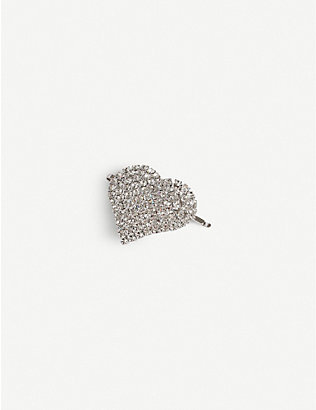 ALESSANDRA RICH: Crystal-embellished hairpin