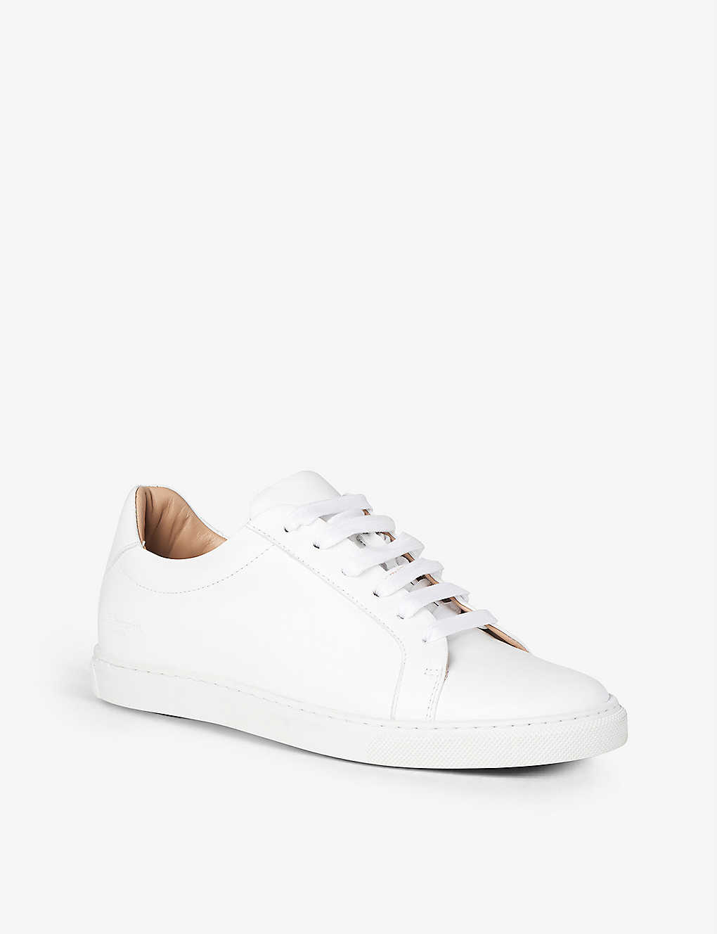 LK BENNETT: Jack leather low-top trainers