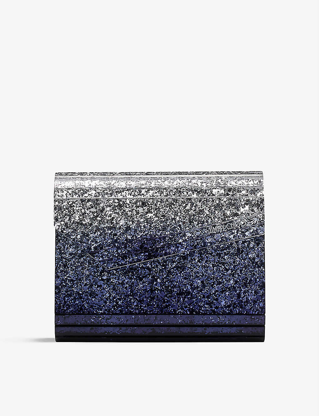 JIMMY CHOO: Candy glitter clutch bag