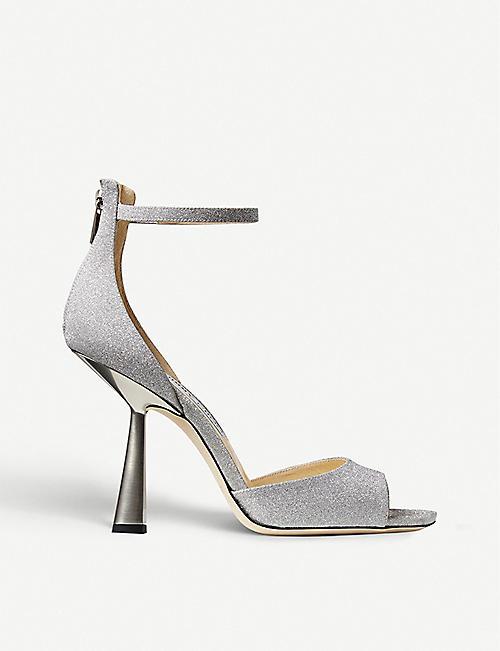 Shop Jimmy Choo peep toe heels for women | Selfridges