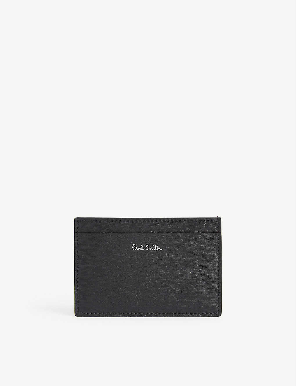 PAUL SMITH ACCESSORIES: Striped leather cardholder