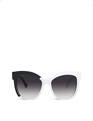 CHANEL: CH9081 cat eye-frame sunglasses