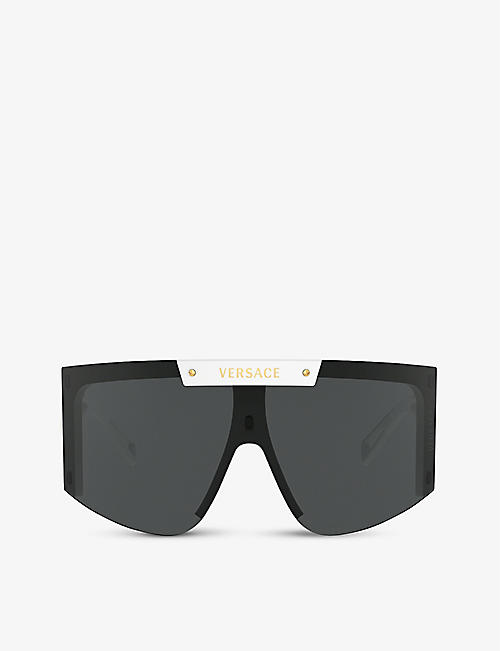 VERSACE: VE4393 visor-frame sunglasses