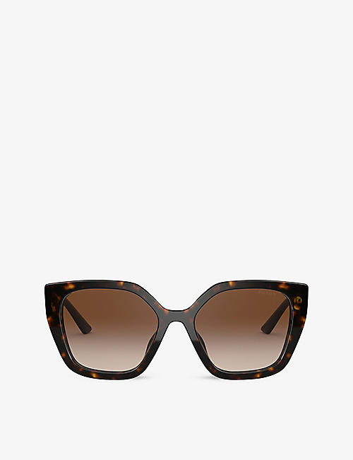 PRADA: PR 24XS rectangle-frame sunglasses