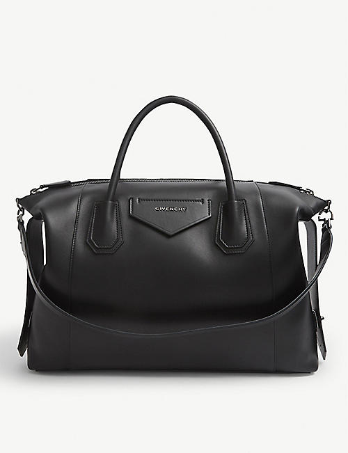 GIVENCHY: Antigona medium leather tote