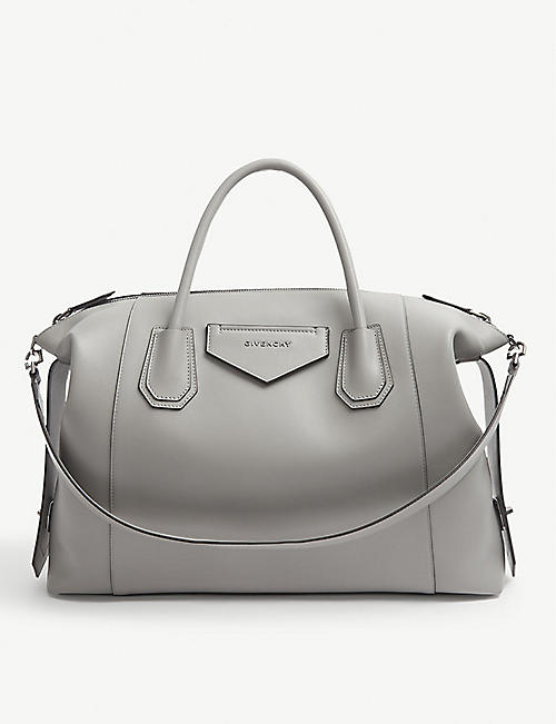 GIVENCHY: Antigona Soft medium leather tote bag