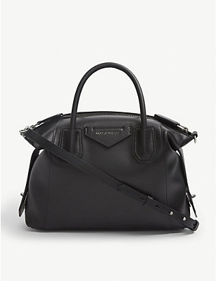 GIVENCHY: Antigona Soft small leather tote bag