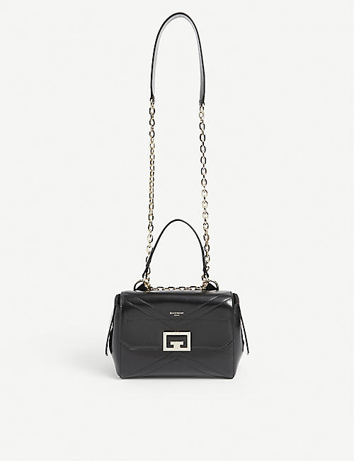 GIVENCHY: ID small leather shoulder bag