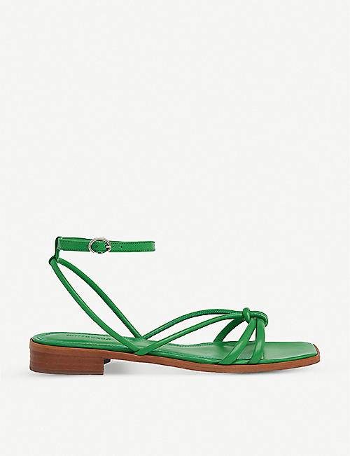 WHISTLES: Roya strappy leather sandals