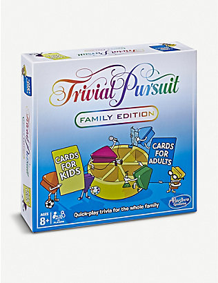 BOARD GAMES: Trivial Pursuit Family Edition