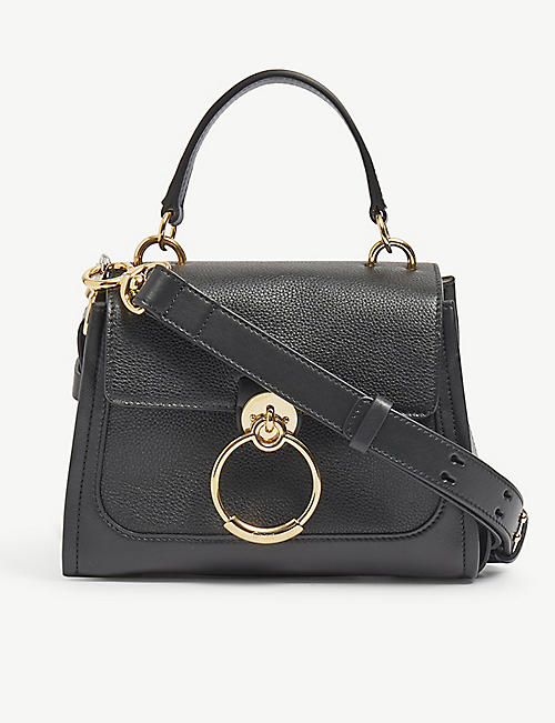 CHLOE: Tess Day mini leather shoulder bag