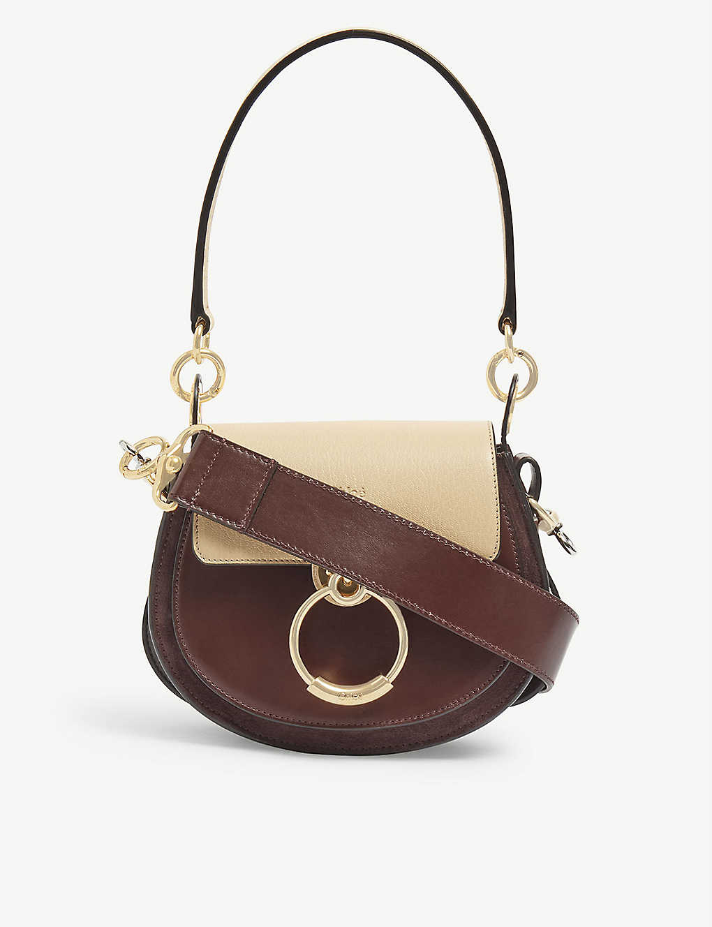 CHLOE: Tess Day small leather cross-body bag