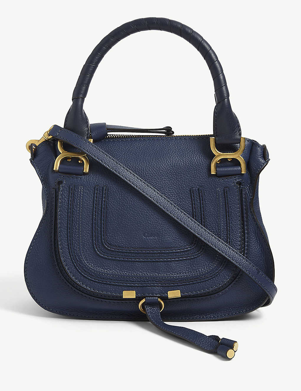 CHLOE: Marcie small leather cross-body bag