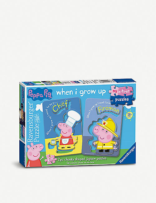 PUZZLES: Peppa Pig My First Puzzles box of six