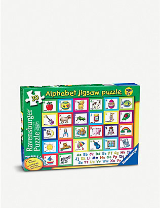 PUZZLES: Discover and Develop Alphabet Puzzle 28 pieces
