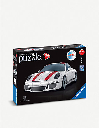 PUZZLES: Porsche 911 three-dimensional puzzle 108 pieces