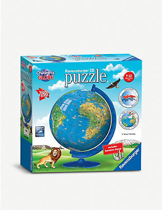PUZZLES: Children's Globe three-dimensional puzzle 108 pieces