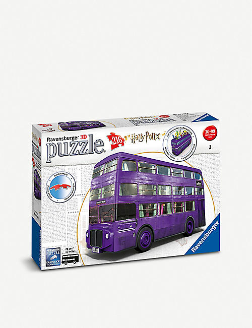 PUZZLES Harry Potter Knight Bus three-dimensional puzzle 216 pieces