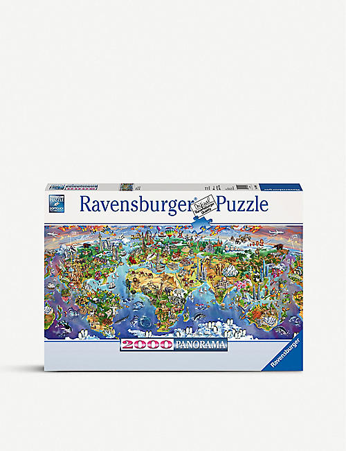 PUZZLES World Wonders Panoramic Puzzle 2000 pieces