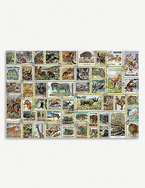 PUZZLES Animal Stamps Puzzle 3000 pieces
