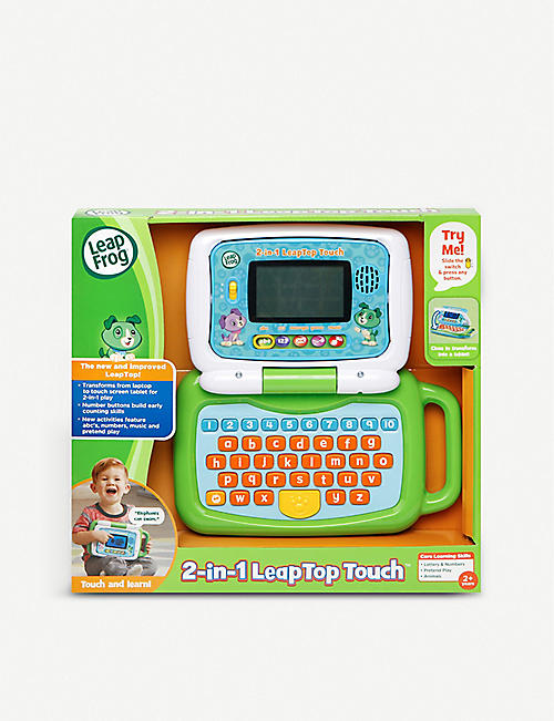 LEAP FROG: 2-in-1 LeapTop touch laptop