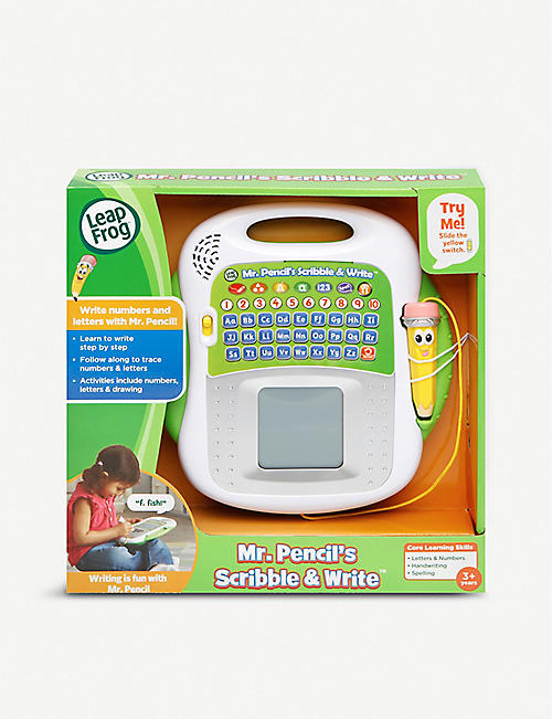 LEAP FROG: Mr. Pencil's Scribble & Write learning toy