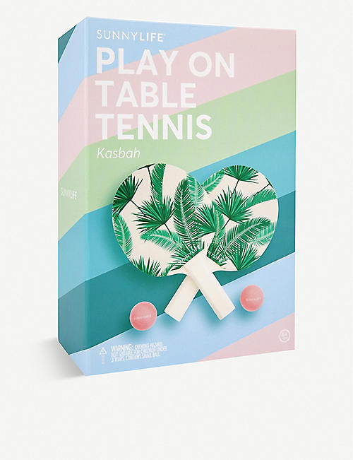SUNNYLIFE: Kasbah Play On Table Tennis set
