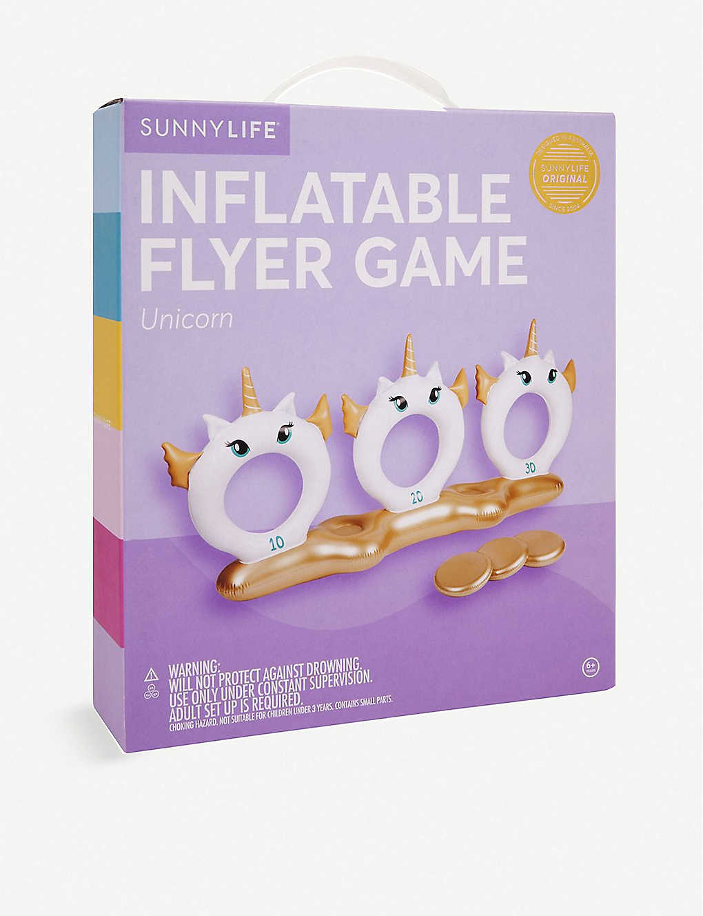 SUNNYLIFE: Unicorn Inflatable Flyer Game
