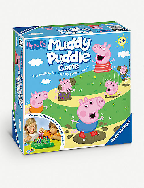 BOARD GAMES: Ravensburger Peppa Pig's Muddy Puddles game