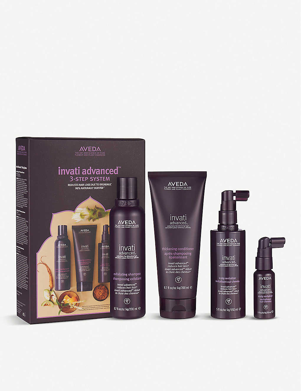AVEDA: Invati Advanced™ 3 Step Set