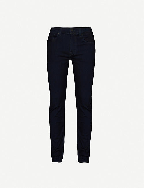 7 FOR ALL MANKIND: Slimmy Luxe slim-leg jeans