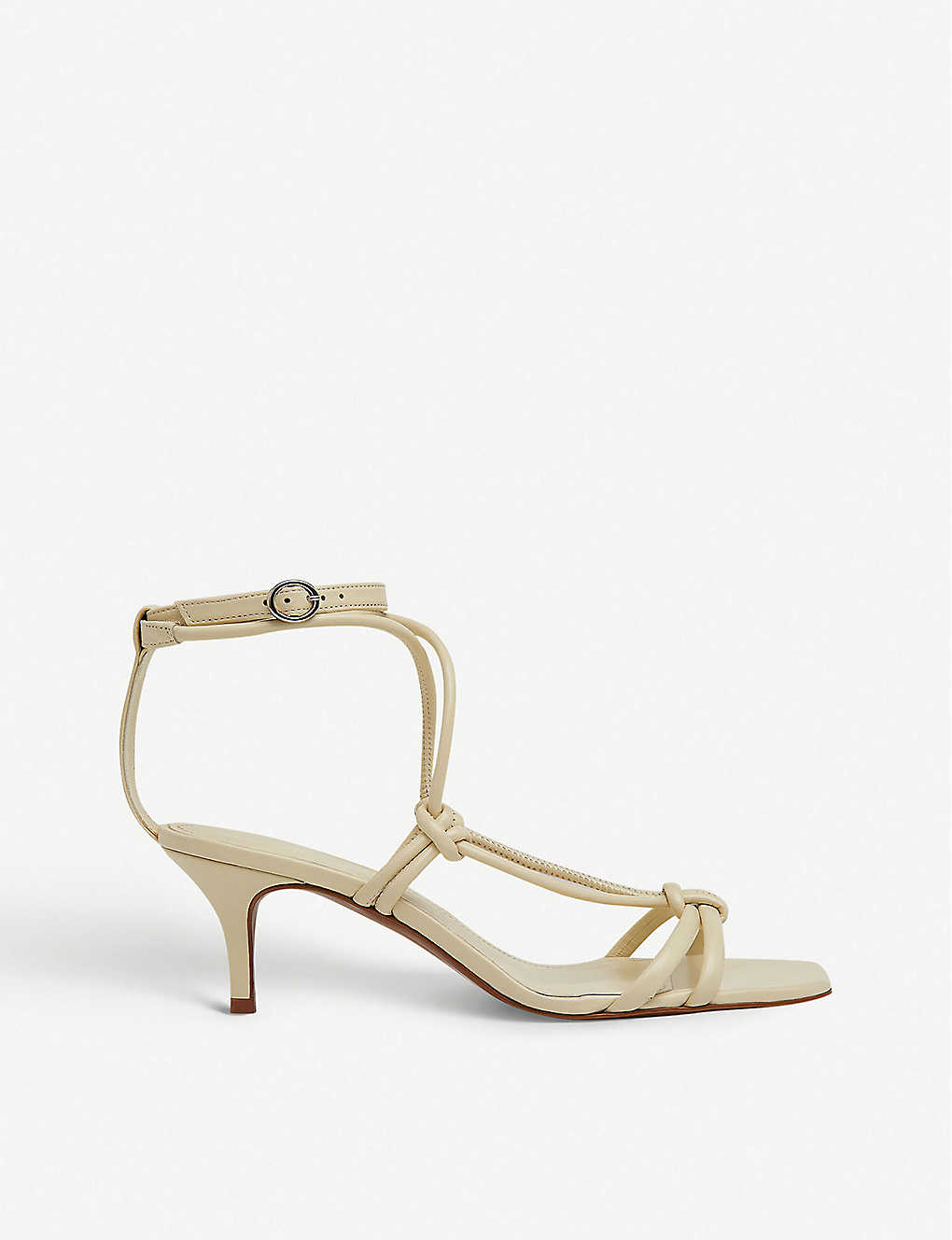 WHISTLES: Emely heeled leather sandals