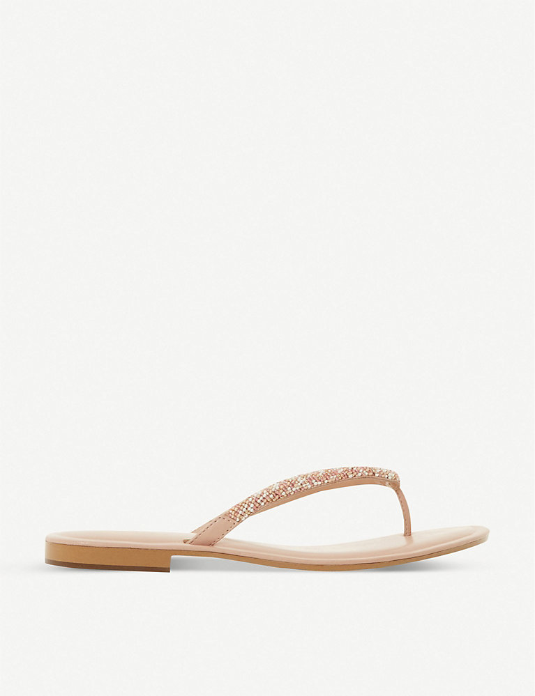 Dune Lizzey embellished sandals